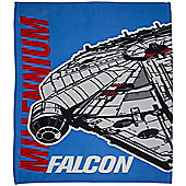 Star Wars Fleece Blanket - Millennium Falcon