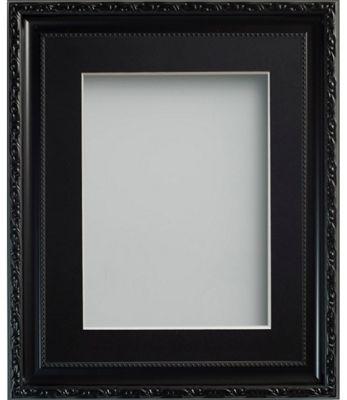 Buy Frame Company Brompton Black 24x18 frame with 18x12 Black mount ...