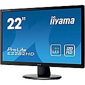"""iiyama ProLite E2282HD-B1 55.9 cm (22"""") LED Monitor - 16:9 - 5 ms"""