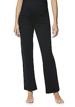 F&F Active Maternity Yoga Pants - Black