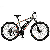 "Switch Mens 27.5"" Wheel Electric Mountain Bike, Grey"