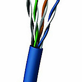 Cables to Go 305 m CAT5e 350 MHz UTP Solid PVC CMR Cable - Blue