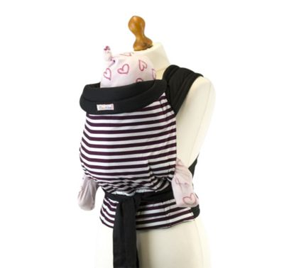 Palm and Pond Mei Tai Baby Carrier – Brown Stripe
