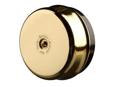 Byron 1200 Wired Underdome Bell Brass