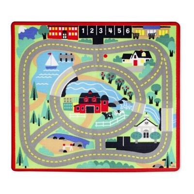 Melissa & Doug Round The Town Road Rug