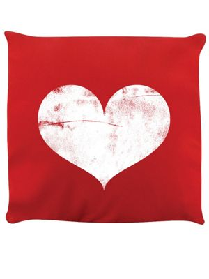 One Heart Cushion Red 40x40cm,