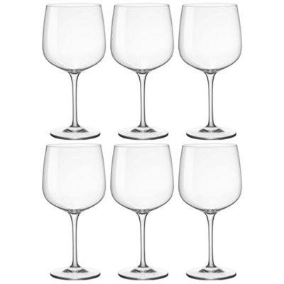 Bormioli Rocco Premium Gin & Tonic Cocktail Glasses - 755ml x6 Copa Balloon