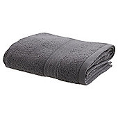 TESCO ZERO TWIST HAND TOWEL GREY