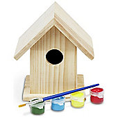 Wooden Build And Paint Your Own Birdhouse