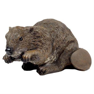 Bart the Large Realistic Beaver Animal Garden Ornament