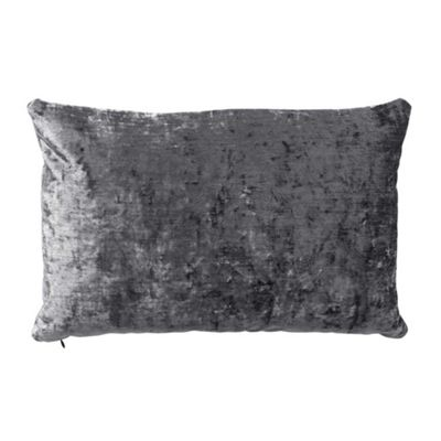 Bahne Grey Velvet Rectangular Cushion designed by Margit Brandt 60 x 40 cm