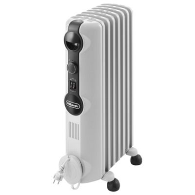 Delonghi Oil Filled Radiator, 1500W - White