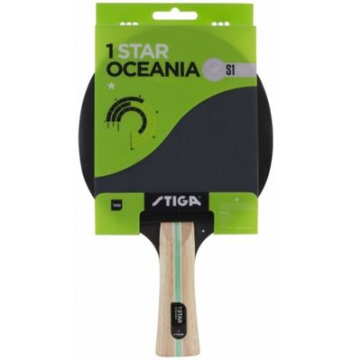 Stiga 1-Star Oceania Table Tennis Bat Wooden Ping Pong Bat
