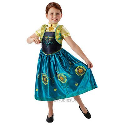 Rubies   Frozen Fever Anna   Child Costume 7 8 Years