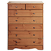 Steens Milford 2+5 Drawer Chest Pine