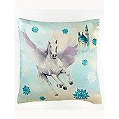 Fairytale Unicorn Reversible Cushion