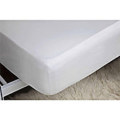 Belledorm 1000 Thread Count Egyptian Cotton 15 Inch Fitted Sheet - White