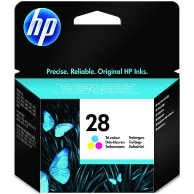 HP 28 Tri-colour Original Ink Cartridge
