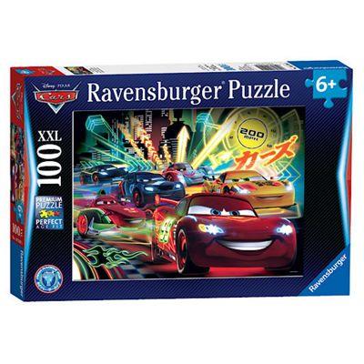 Ravensburger Disney Cars Neon XXL Puzzle - 100 Pieces