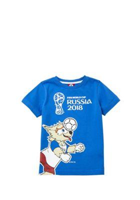 FIFA Russia 2018 Football T-Shirt Blue 12-18 months