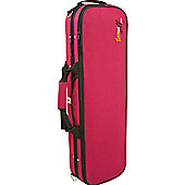 Tom and Will 4/4 Size Violin Gig Case - Burgundy