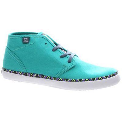 DC Studio Mid LTZ Green/Yellow Womens Shoe