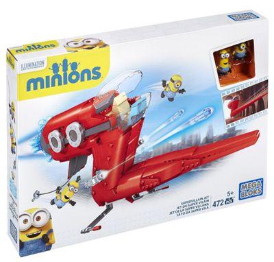 Mega Bloks Minions Supervillain Jet Set