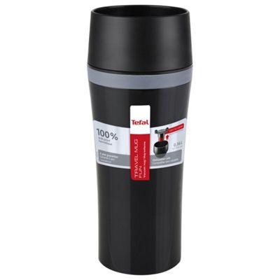Tefal travel mug fun 360ml black/grey