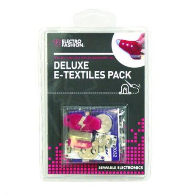 DIY Electro Fashion Deluxe E Textiles Flashing Wearable Tech Kit