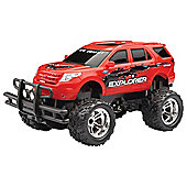New Bright 1:16 Ford Explorer Remote Control Truck Red