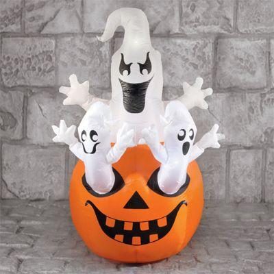 Ghosts on Pumpkins Halloween Party Prop - 1.6m