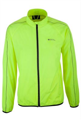 Mountain Warehouse Force Mens Reflective Water-Resistant Running Jacket ( Size: M )