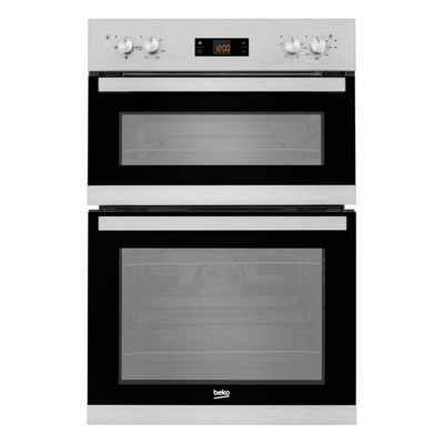 Beko BADF22300X 60cm Stainless Steel Electric Double Oven