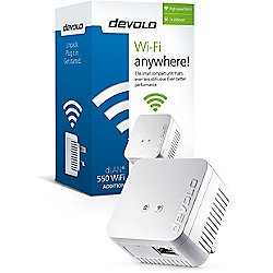 Devolo 9626 dLAN 550 WiFi (Single Adapter)
