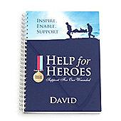 Help for Heroes Personalised Notepad