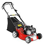 Lawn Mower Briggs & Stratton Powered Self Propelled Petrol Lawnmower - 46cm Cutting Width (LM46SP)