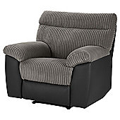 Dorset Arm Chair Recliner - Dark Grey