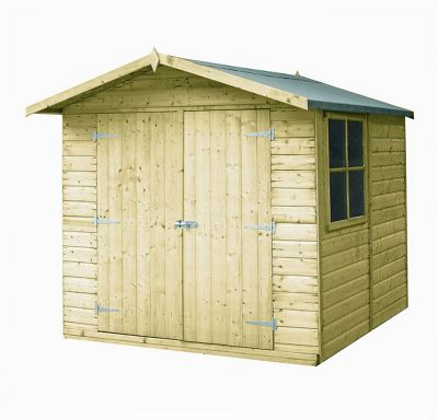 7 x7' Pressure Treatec Apex Shed by Finewood