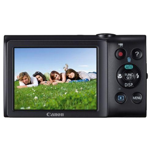 Canon A2300 Powershot Digital Camera, Black 16MP, 5x Optical Zoom, 2.7 Inch LCD screen