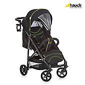 Hauck Rapid 4S Pushchair - Caviar/Neon Yellow