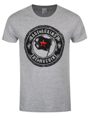 Rage Against the Machine Bulls Sport Grey Men's T-shirt