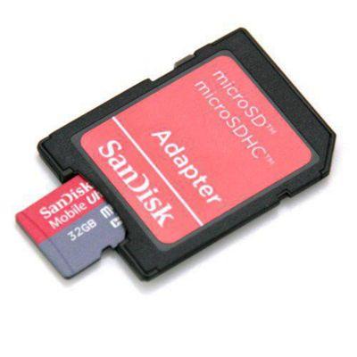 SanDisk Ultra Micro SDHC Memory Card - 32GB.