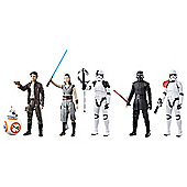 Star Wars Last Jedi 6 pack of Heroes