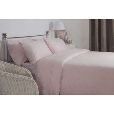 Belledorm 12 Inch Deep Brushed Cotton Pink Fitted Sheet - Single