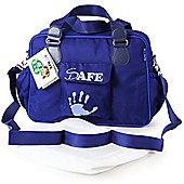 iSafe Luxury Changing Bag (Navy)