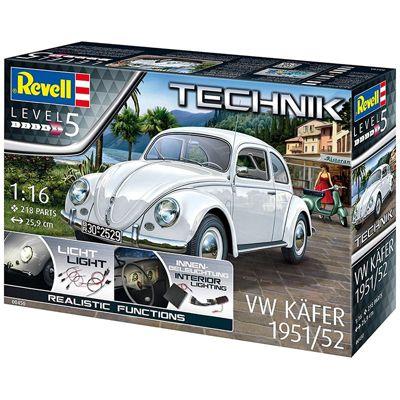 REVELL VW Kafer 1951/52 1:16 Car Model Kit 00450