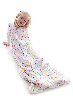 Snoozebag Baby Sleeping Bag- Seaside Fun (0.5 tog) - White & Multi