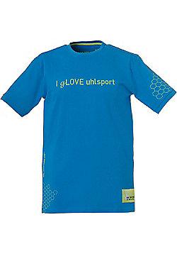 Uhlsport I Glove T-Shirt - Blue