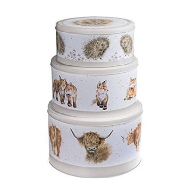 Wrendale Designs - The Country Kitchen Collection - Cake Tin Nest Set of 3