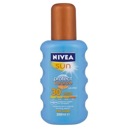 Nivea Sun Protect & Bronze Spray SPF30 200ML